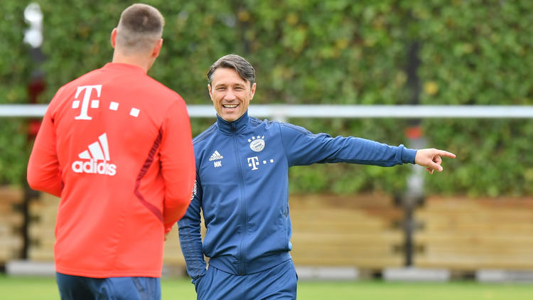 Niko Kovac hat klare Vorstellungen über den künftigen Abwehrverbund des FC Bayern
