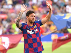 Barça-Star Lionel Messi ist wieder fit