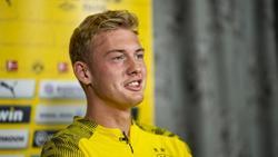 Julian Brandt steht jetzt bei Borussia Dortmund unter Vertrag