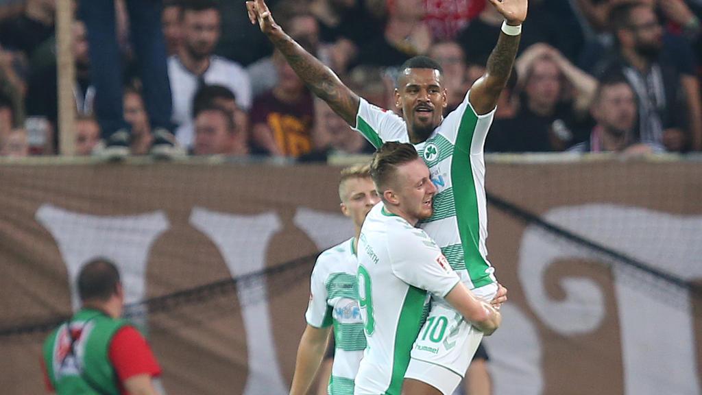 Daniel Keita-Ruel schnürte gegen St. Pauli einen Doppelpack