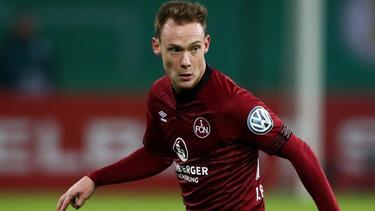 Wechselt vom FC Nürnberg zum Zweitligakonkurrenten Jahn Regensburg: Federico Palacios