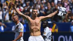 Zlatan Ibrahimovic erhält eine Statue