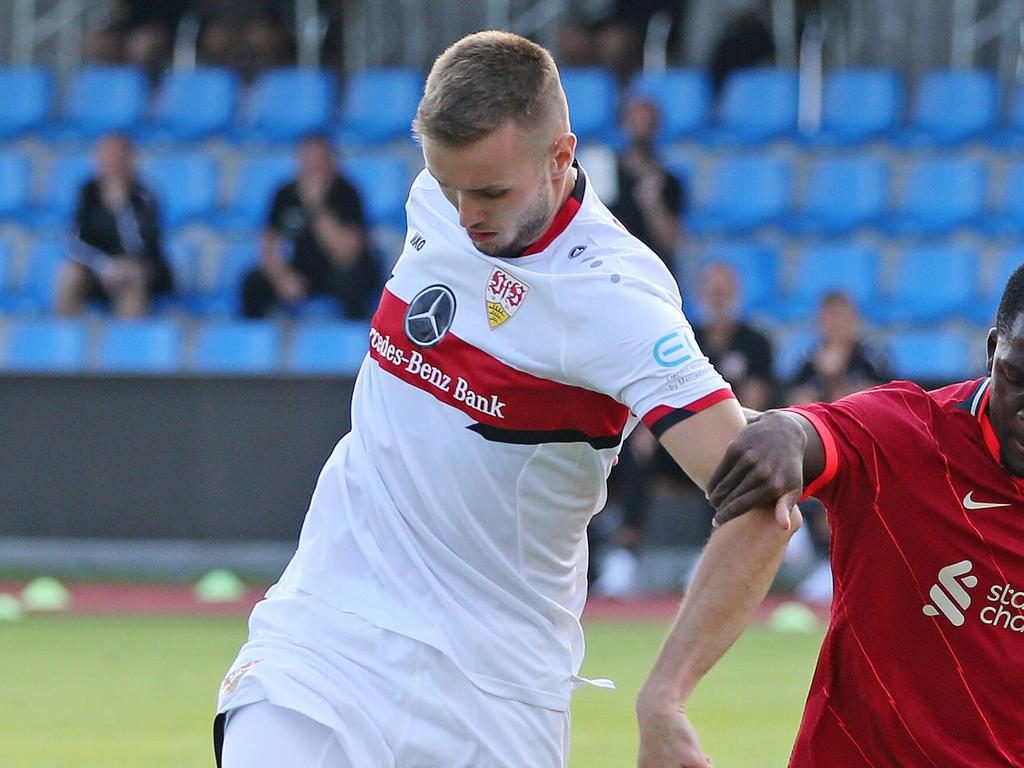 Beim VfB Stuttgart macht man sich keine Sorgen um einen Abgang von Saša Kalajdžić