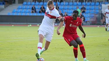 Stuttgart zeigte starke 30 Minuten gegen Liverpool