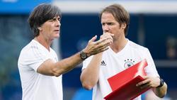 Thomas Schneider (r.) arbeitet nicht mehr für den DFB
