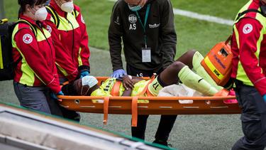 Nicole Anyomi hat sich schwer verletzt
