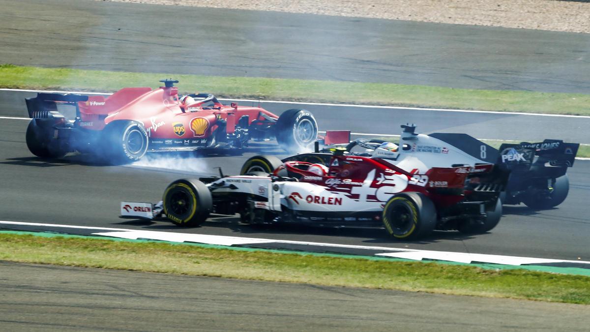 Sebastian Vettel leistete sich in Silverstone einen folgenschweren Fehler