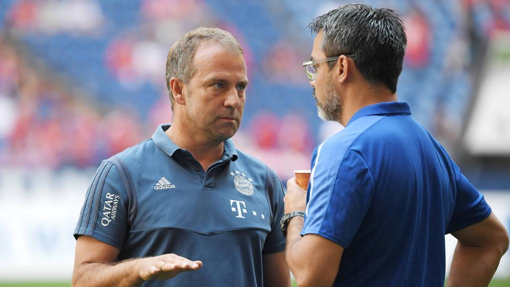 Hansi Flick und der FC Bayern treffen am Freitag auf den FC Schalke