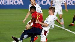 Spanien bezwang die Schweiz