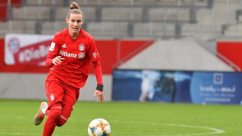Simone Laudehr will die Meisterschaft mit dem FC Bayern gewinnen