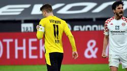 BVB-Kapitän Marco Reus vergab einen Elfmeter gegen Mainz