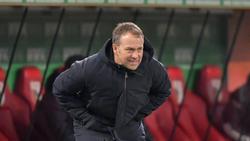Hansi Flick und der FC Bayern nahmen drei Punkte aus Augsburg mit