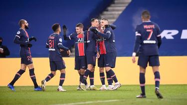 El PSG no tuvo problemas en casa para golear.