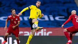 Gleich wieder mittendrin statt nur dabei: Zlatan Ibrahimovic