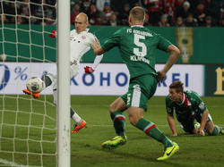 Arjen Robben traf früh zum 1:0 für die Gäste