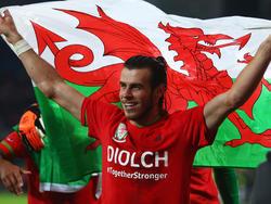 Gareth Bale ist der Superstar schlechthin bei den Walisern