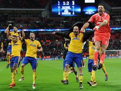 Juve schlug Tottenham 2:1 - und darf nun weiter hoffen