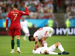 Cristiano Ronaldo winkt ab
