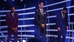 Cristiano Ronaldo sicherte sich den Weltfußballer-Titel bereits fünfmal