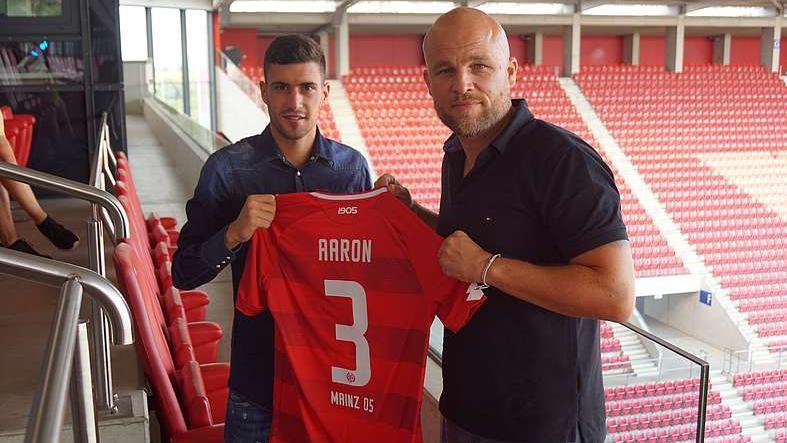 Aarón Martín wechselt auf Leihbasis zum FSV Mainz 05 (Bildquelle: mainz05.de)