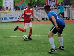 Österreich feierte bei der Obdachlosen-WM in Mexiko einen 4:2-Auftaktsieg gegen Hongkong. © Caritas