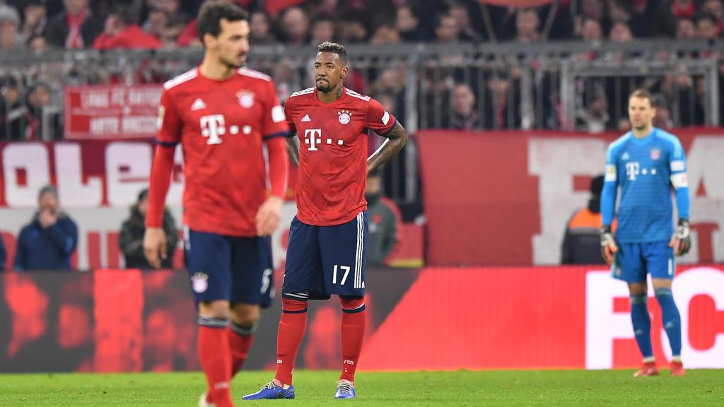 Jérôme Boateng ist beim FC Bayern außer Form