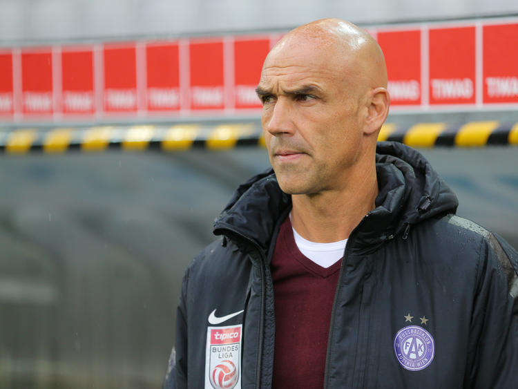 Austria-Trainer Thomas Letsch blickt dem Derby gegen Rapid entgegen