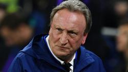 Neil Warnock von Cardiff City fand keine neuen Stürmer