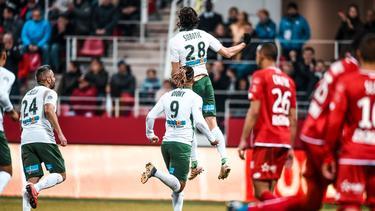 Matchwinner für Saint-Étienne: Neven Subotic (Bildquelle:twitter.com/asseofficiel)