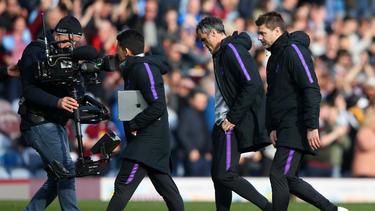Mauricio Pochettino en el duelo ante el Burnley. (Foto: Getty)