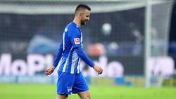 Vedad Ibisevic erzielte für Hertha BSC ein Tor, zog aber mit den Berlinern den Kürzeren