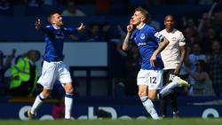 Lucas Digne (r.) traf zum 3:0 für den FC Everton