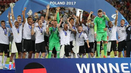 Vor zwei Jahren siegten die DFB-Youngsters in Polen