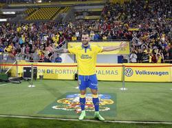 Jesé en su presentación con el Las Palmas en enero 2017. (Foto: Imago)