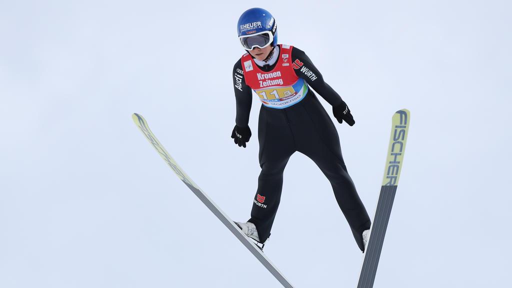 Für Carina Vogt ist die Weltcup-Saison beendet