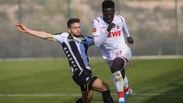 Der 1. FC Köln hat den ersten Test des Jahres verloren