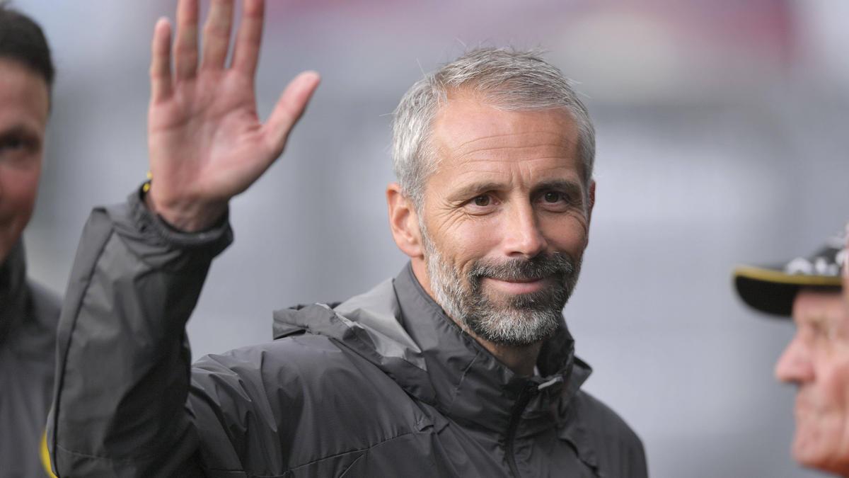 BVB-Coach Marco Rose war zufrieden mit seinem Team