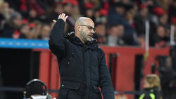 Trainer Peter Bosz hat mit Bayer gegen Utrecht verloren