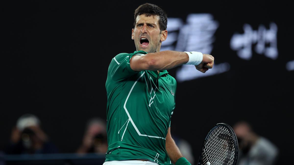 Novak Djokovic steht souverän im Melbourne-Finale