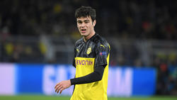 Giovanni Reyna spielt seit Januar für die Profis des BVB