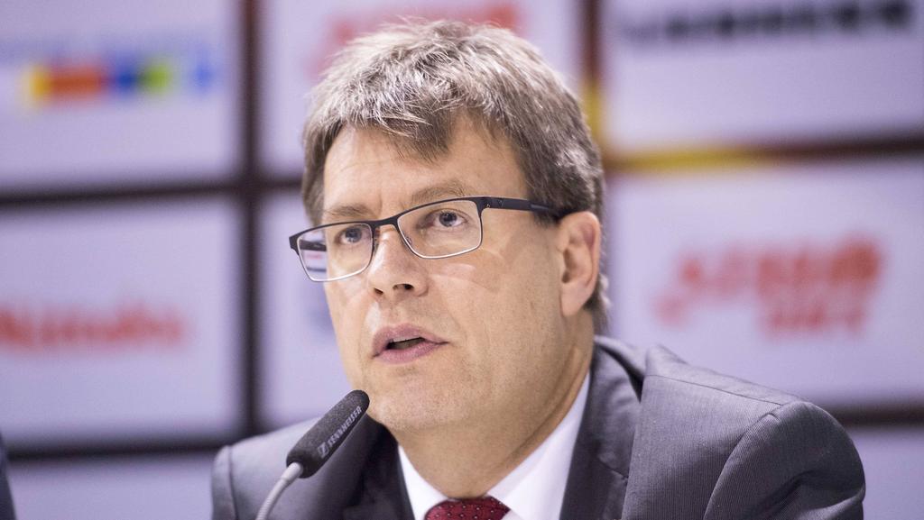 Präsident der ITTF: Thomas Weikert