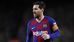 Auch Barcelonas Superstar Lionel Messi vermisst die Fans im Stadion