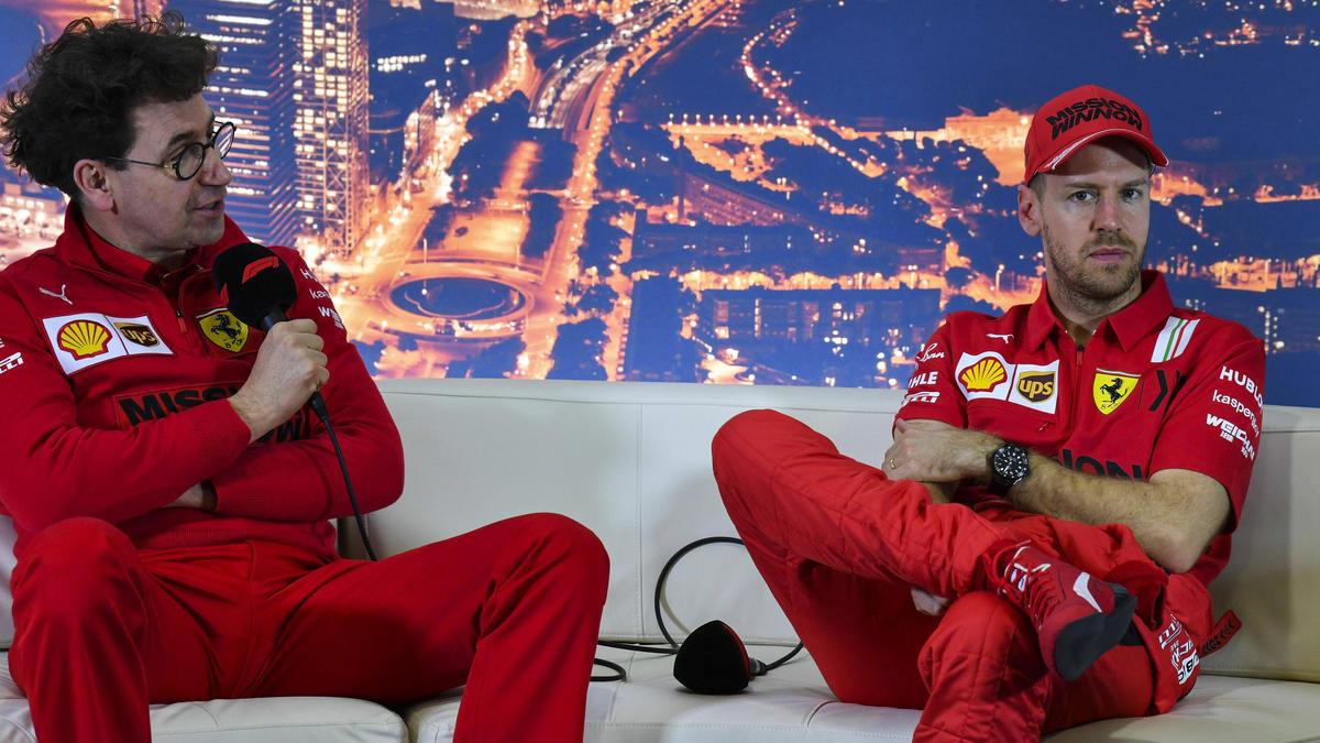 Sebastian Vettel (re.) hat über das Leben in Italien gesprochen