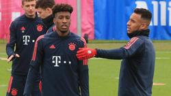 Kingsley Coman und Corentin Tolisso haben beim FC Bayern aktuell einen schweren Stand