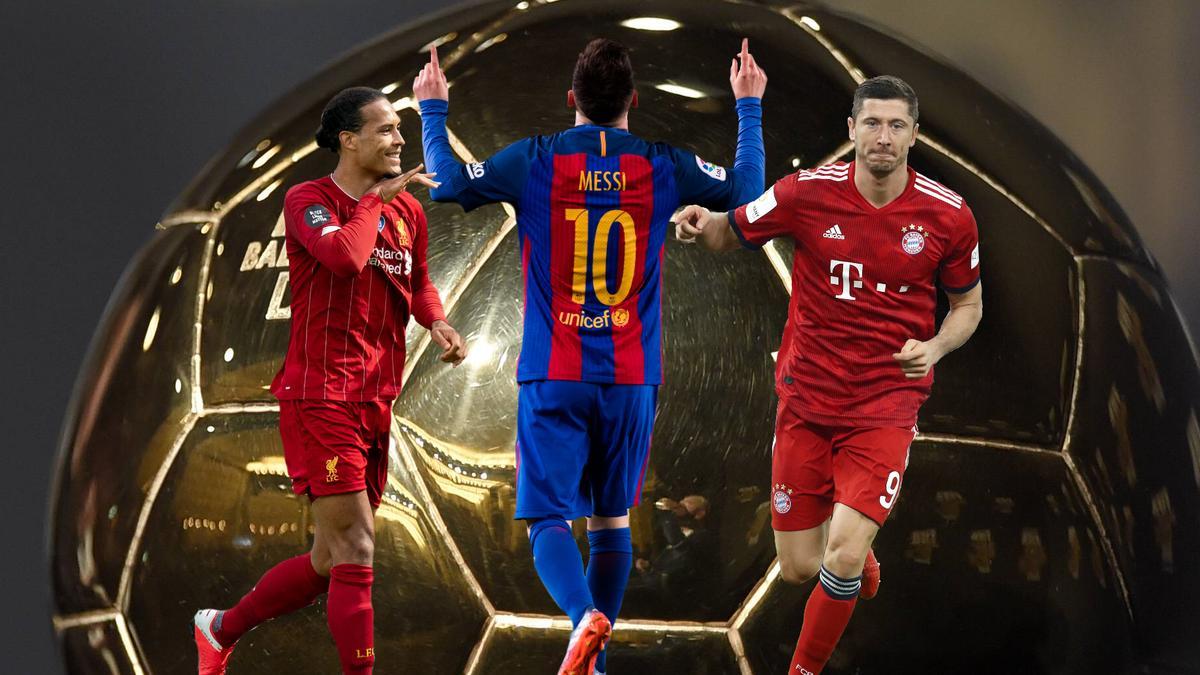 Van Dijk, Messi und FC Bayerns Lewandowksi zählen zu den Besten ihres Fachs