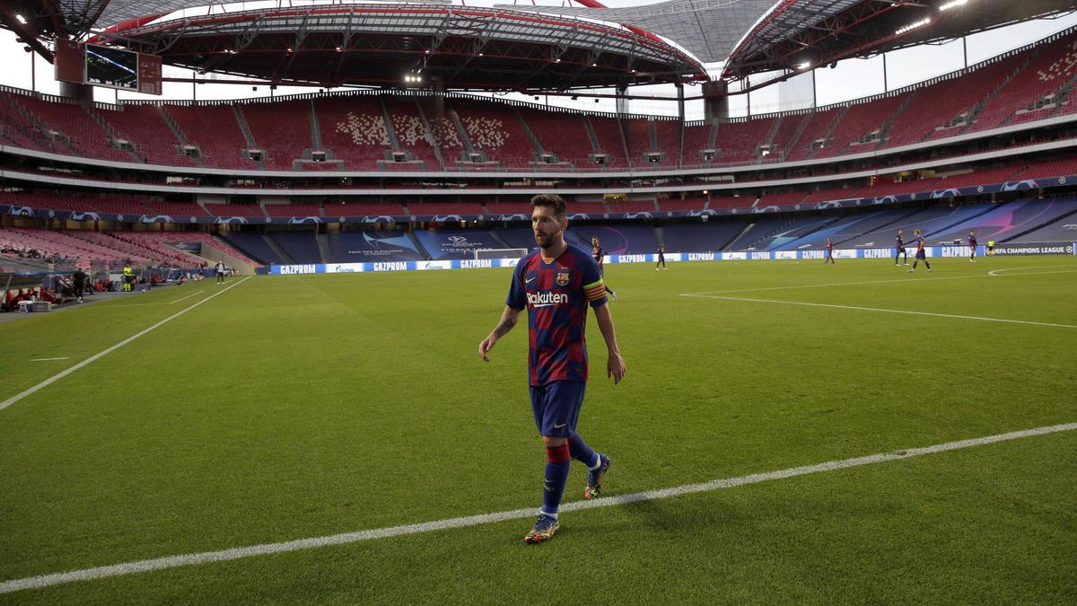 Debakel gegen den FC Bayern schmerzt: Der frustrierteste Lionel ...