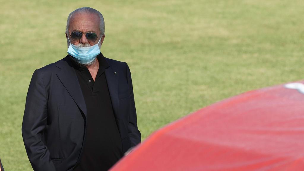 Aurelio De Laurentiis, Präsident des SSC Neapel
