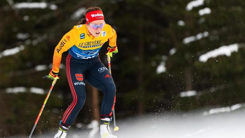 Elfte in Davos: Langläuferin Katharina Hennig