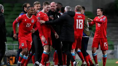 Luxemburg feiert den ersten Auswärtssieg in der WM- bzw. EM-Qualifikation seit 2008
