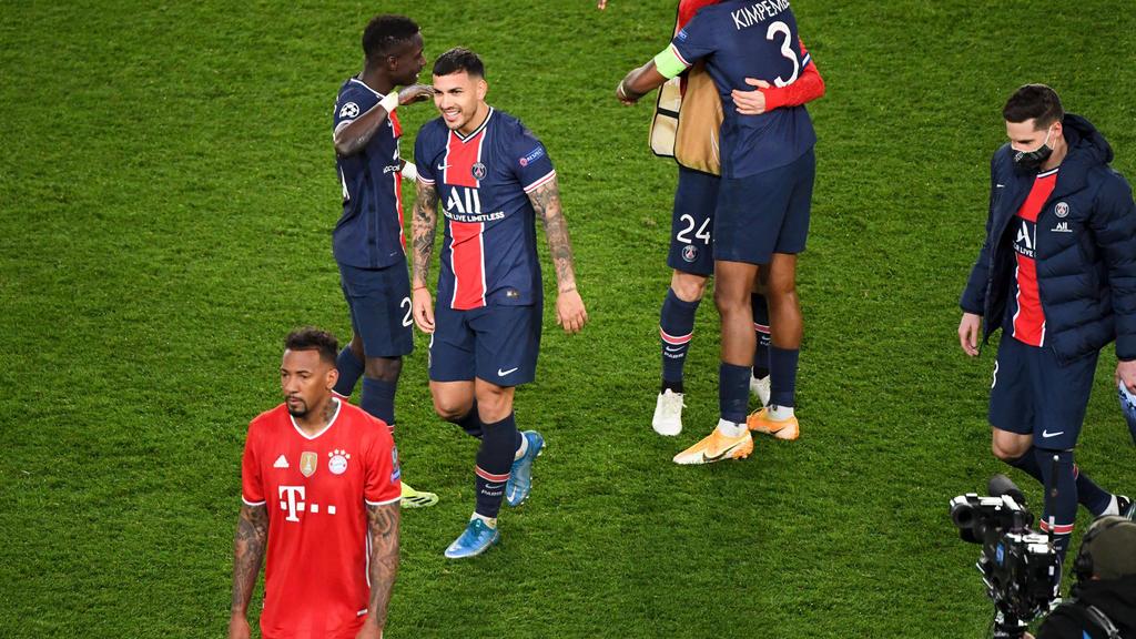 Der FC Bayern scheiterte in der Champions League an PSG